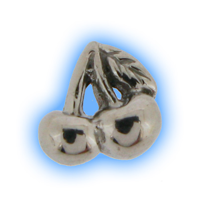 Stainless Steel Screw On Cherry Top - 1.2mm (16g)