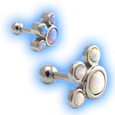 Opal Paw Ear Stud