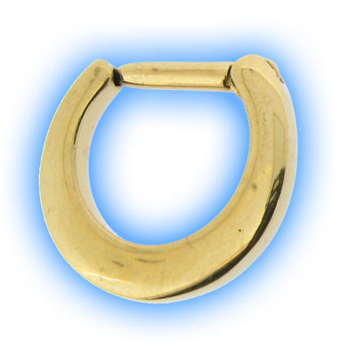 Gold PVD Septum Clicker