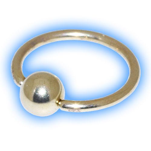 Gold PVD Titanium BCR - 1.2mm (16 Gauge)