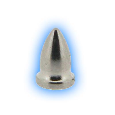 Stainless Steel Screw On Bullet - 1.6mm (14g)