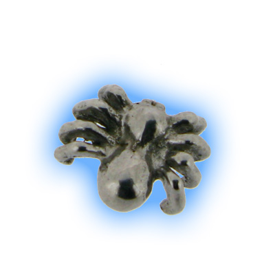 Stainless Steel Screw On Spider Top - 1.6mm (14g)
