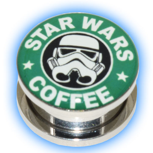 Star Wars Ear Plug - Coffee design