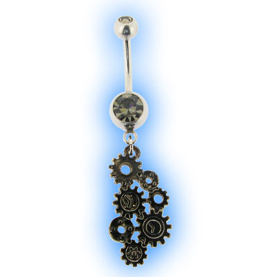 Belly Bar - Steampunk Gears