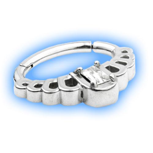 Daith Deco design Ring