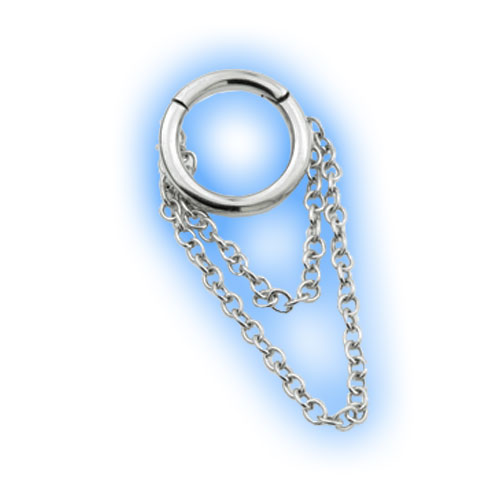 Steel Hinged Segment Ring with chains