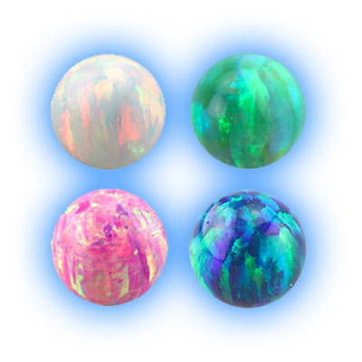 1.2mm (16 gauge) Opal Ball