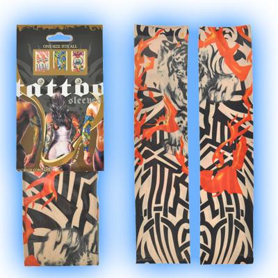 Fake Tattoo Sleeve - Tribal Tiger