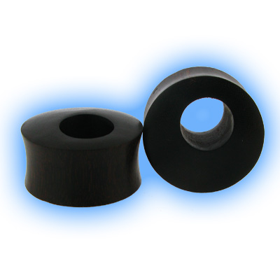 Tamarind Organic Ear Plug with offset hole