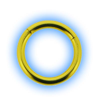 Yellow Neon Segment Ring