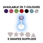 BioFlex Internal Labret Mixed Value Set - Shapes