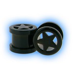 Black PVD Stainless Steel Screw Tunnel - Star