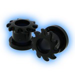 Black Acrylic Screw Tunnel - Sunshine