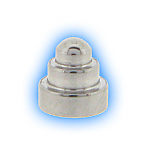 Stainless Steel Screw On Dumbbell Cone - 1.2mm (16g)