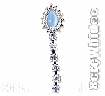 Screwbidoo Screw - Mystica Cat Eye Diamonte Dangle