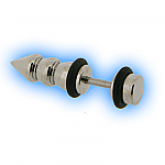 Fake Ear Taper - Steel Screw