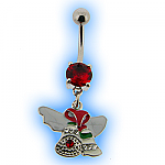 Christmas Belly Bar - Colourful Jingle Bells