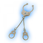 Fake Nipple Clip with Single Handcuffs