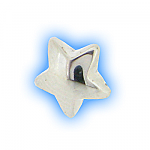 Stainless Steel Screw On Star Top - 1.2mm (16g)