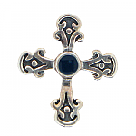 Screwbidoo Screw - Silver Gothic Cross