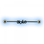 Industrial Barbell - YOLO (You Only Live Once)  Scaffold Bar