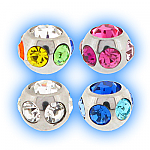 Stainless Steel Screw On Multi Jewel Ball - 1.6mm (14g)