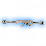 Industrial Barbell Machine Gun for Scaffold Ear Piercing