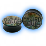 Acrylic Saddle Plug Wasted Youth