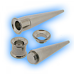 Surgical Steel Screw Tunnel and Taper Ear Stretching Kit