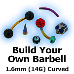 Build Your Own Curved Barbell 1.6mm (14G)