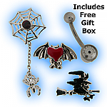 Screwbidoo Belly Bar Halloween Gift Set