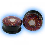 Acrylic Screw Plug Doughnut Donut