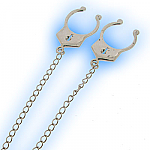 Fake Nipple Clip Handcuffs and Joining Chain