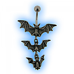 Halloween Batty Belly Bar