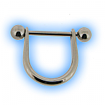 Stainless Steel Nipple Stirrup & Barbell