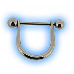 Stainless Steel Nipple Stirrup & Barbell