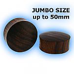 Jumbo Organic Sono Wood Flesh Plug