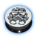 Star Wars Ear Plug - Candy Skull Stormtrooper