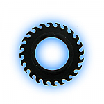 Black Rubber Sawblade O Ring