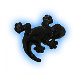 Black PVD Screw On Gecko- 1.2mm (16g)