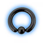 Black PVD Large Gauge Ball Closure BCR