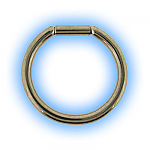 1.6mm (14g) Stainless Steel Bar Closure Ring