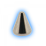 Stainless Steel Screw On Cone - 1.6mm (14g)