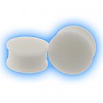 White Ear Plug Silicone