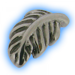 Stainless Steel Screw On Feather - 1.6mm (14g)