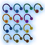 Titanium Spiral Twister Plain Balls