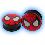 Acrylic Screw Plug Spiderman