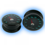 Acrylic Screw Plug Rev Counter