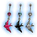 Enamel Swallow Belly Bar