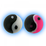 Acrylic Yin Yang Ball - 1.6mm (14g)